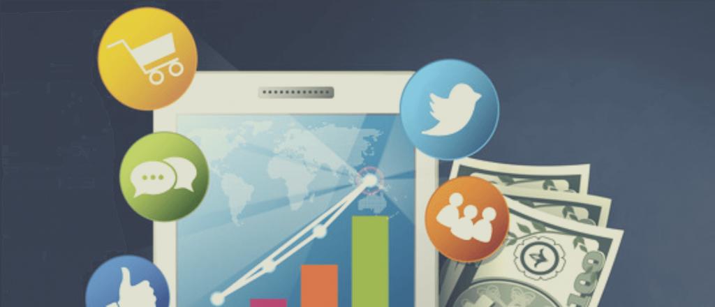 Social media advertising for startups.